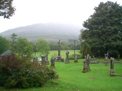 Faerie Hill From the Kirkyard