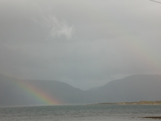 Rainbows over Loch Linnie