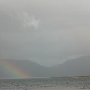 Rainbows over Loch Linnie