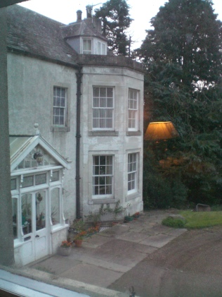 Bilbster HOuse, early morning from the window