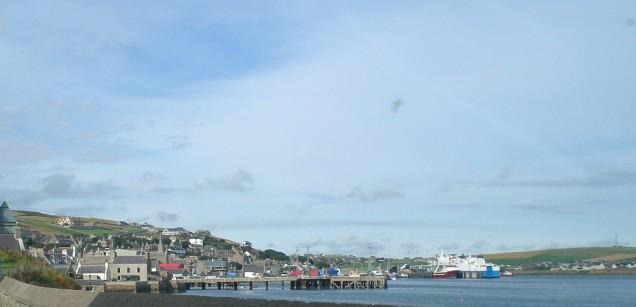 Scrabster Northlink Ferry pier