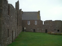 Inside the Castle compound