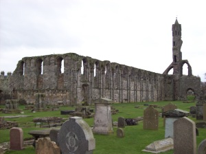 The ruins of St. Adrews Cathedral