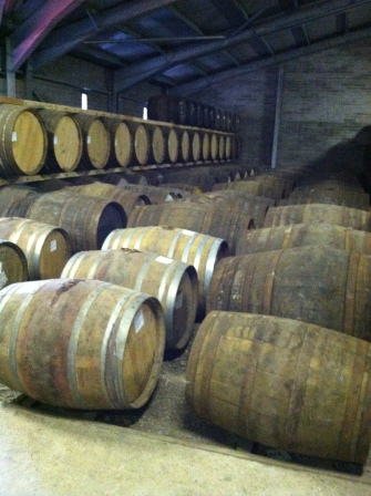 Whisky Barrels, Edradour Distillery