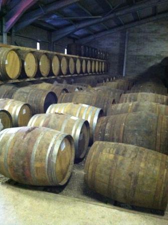 Whisky Barrels, Edradour Distillery