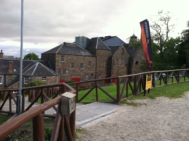 Glenmorangie Distillery, Tain, Ross-shire