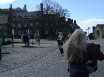 Courtyard, Edinburgh Castle