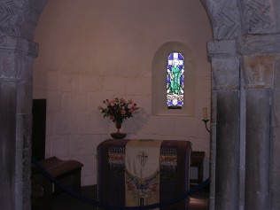 Interior, St Margaret's Chapel, Edinburgh Castle
