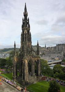 Sir Walter Scott Monument Edinburgh