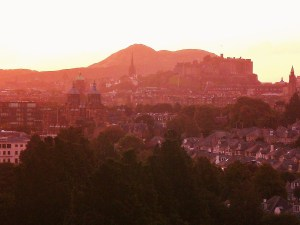 Sunrise, Edinburgh