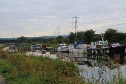 Boats along the canal