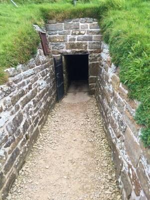 Entrance to Maeshowe
