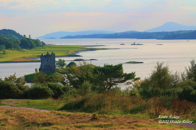 Castle Stalker, north of Oban