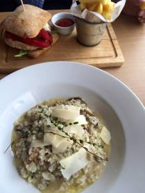 4.5 Mushroom risotto with nutty mountain cheese and wild thyme (3)