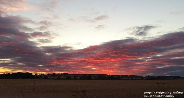 6 sunset at Crofstmuir Steading (2)